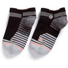Stance 'Rapido Low' colourblock stripe performance socks Sport Socks, Under Armour, Shoe Bag, Shoes, Collection, Shopping, Design, Women, Fashion