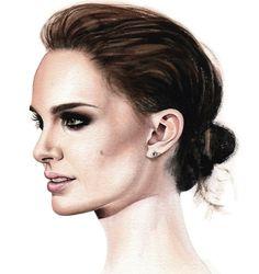 Watercolor Portraits of Hollywood Actresses – Fubiz™