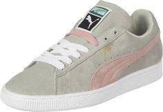 Puma Suede Classic W chaussures gris rose