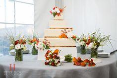 Wedding reception at Grand Teton Lodging Company in Jackson Hole, Wyoming. Photo courtesy of Heather Erson. Copper Wedding Cake, Luxe Wedding, Unique Wedding Colors, Unique Weddings, Spring Wedding Flowers, Greek Wedding, Jackson Hole, Wedding Receptions, Eat Cake