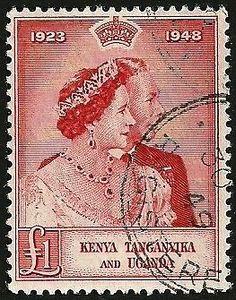 KUT 1 Pound 1948