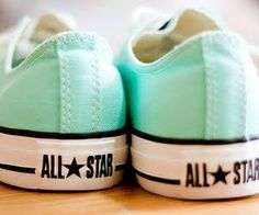 Awesome mint converses