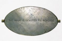 Louise Bourgeois | The Hour is Devoted to Revenge
