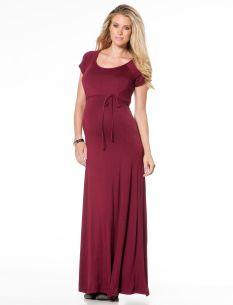 Destination Maternity Jessica Simpson Sleeveless Lightweight Maternity Maxi Dress