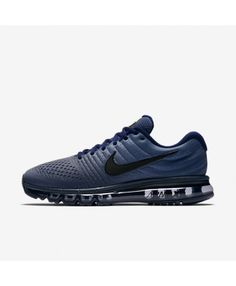 03d0a02e8f8c2 NIKE AIR MAX 2017 Binary Blue Obsidian Black Nike Air Max Trainers, Mens  Trainers,