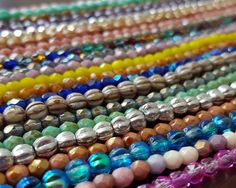 Do a little bit of beadweaving with these tiny Czech glass beads - they are so perfectly sparkly!