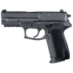 SIG Sauer SP2022 Semi Automatic Handgun 9mm 3.9 Barrel 15 Rounds Black Polymer Frame and Grips Contrast Sights Includes One Magazine and Extra Grip