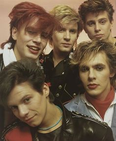 Duran Duran, ummm yeah I was a little obsessed back in junior high!