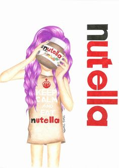 Keep Calm and Eat Nutella ~ By Mry Me