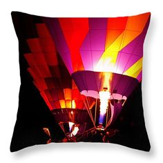 """Love Is In The Air Throw Pillow 20"""" x 20"""""""
