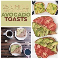 25 Simple And Elegant Avocado Toasts
