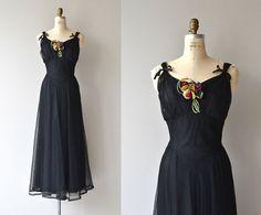 Vestido de Bona Nox  vestido vintage años 1930  por DearGolden