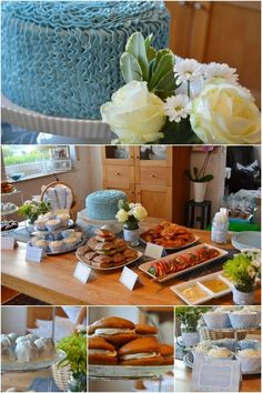 Boy Baby Shower Food Ideas www.spaceshipsandlaserbeams.com