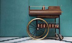 Shaken and stirred: Studio Caramel brings back the bar cart in Beirut