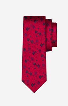 DA  Czerwony krawat WÓLCZANKA - PWB6WX0362