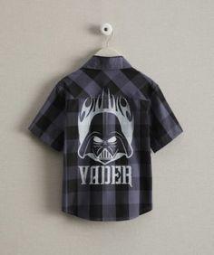 boys darth vader shirt