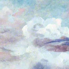 Study of Clouds with a Low Horizon (details) Lionel Bicknell Constable - circa 1850