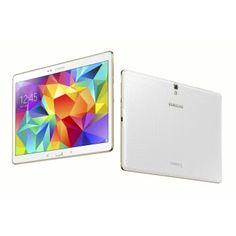 """ของดี  Samsung Galaxy Tab S T805 10.5"""" 16GB Dazzling 4G Version (White)  ราคาเพียง  19,300 บาท  เท่านั้น คุณสมบัติ มีดังนี้ 2560 x 1600 pixels, 10.5 inches Screen Android OS, v4.4.2 (KitKat) 8 MP Camera, 3264 x 2448 pixels, autofocus, LED flash"""
