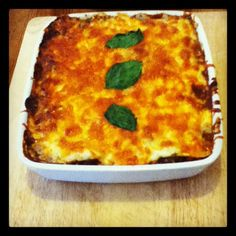 My take on the Hairy Biker's pasta-free lasagne -using blanched leeks! #healthymeals