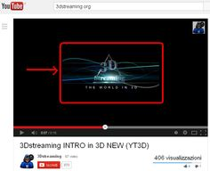 """YOUTUBE 3D BUGS ....STEREOSCOPY - Topic: Youtube's """"3D"""" control is back (1/1) ..."""