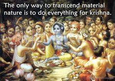 Transcending Material Nature  For full quote go to: http://quotes.iskcondesiretree.com/bhakti-charu-swami-on-transcending-material-nature/  Subscribe to Hare Krishna Quotes: http://harekrishnaquotes.com/subscribe/  #MaterialNature