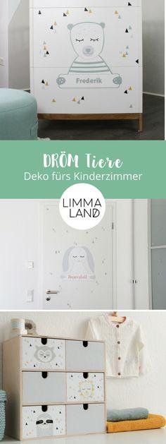 Schöner IKEA IVAR Hack fürs Kinderzimmer. Einfach den Schrank mit ...