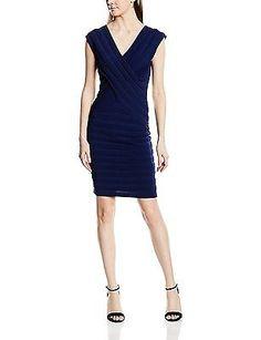 12 (Manufacturer Size: Large), Blue (Marine), Morgan Women's 161-rdim.m Short Sl
