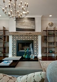 Mantel Redo On Pinterest Fireplace Makeovers Mantels