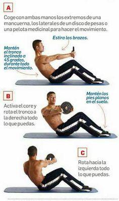 TWIST RUSO LASTRADO - ENTRENAMIENTO SIX-PACK EXPRESS | Aptitud Fitness