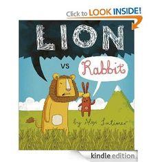Lion vs Rabbit by Alex Latimer