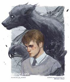 Remus Lupin / Werewolf by Michelle-Winer.deviantart.com on @DeviantArt
