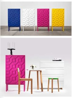 Office collect by designers Collection 2011 Made of wood and MDF. Luxury Furniture, Cool Furniture, Modern Furniture, Furniture Design, Cabinet Design, Cabinet Ideas, Beautiful Houses Interior, Home Goods Decor, Modern Cabinets