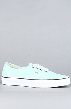 Vans Footwear  The Authentic Sneaker in Green