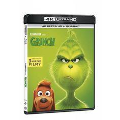 Blu-ray Grinch, UHD + BD, CZ dabing   Elpéčko - Predaj vinylových LP platní, hudobných CD a Blu-ray filmov Grinch