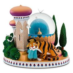 My favorite snowglobe in my collection ~ Princess Jasmine Snowglobe