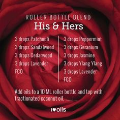 Happy Valentine's Day! I hope it's a lovely day for all of you. If you are looking for some yummy massage blends, give these his and hers recipes a try! Essential Oil For Men, Oils For Men, Doterra Essential Oils, Doterra Oil, Doterra Blends, Yl Oils, Essential Oil Aphrodisiac, Essential Oil Perfume, Perfume Oils