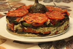 Simply Special: Grilled Vegetable Torte