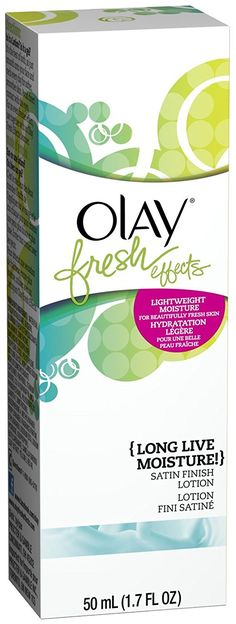 Olay Fresh Effects Long Live Moisture! Satin Finish Lotion, 1.7 oz (Pack of 3) -- Check this awesome beauty product by going to the link at the image.