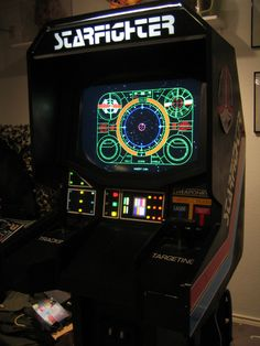 The Last Starfighter arcade game Video Game Rooms, Video Games, The Last Starfighter, Retro Arcade Games, Arcade Room, Video Game Industry, Arcade Machine, Sci Fi Movies, Pinball