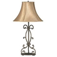 Craftsman Wrought Iron Collection Table Lamp Home Improvement