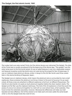 """The Gadget, the first atomic bomb, 1945""  Interesting historical photos {Part 15}"