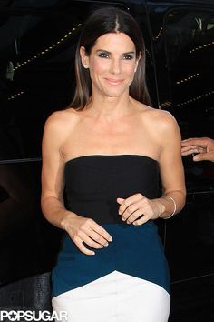 So Stunning: Sandra Bullock made a stunning arrival to the TIFF premiere of Gravity on Sunday.