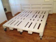 Come costruire un letto con pallet riciclati progetto totalmente