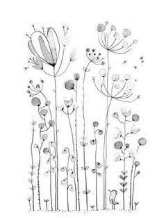 Embroidery Pattern of Flowers from @leschosettes.canal blog.com. This link is Broken. jwt