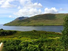 Killary Harbour, Galway with the mussel pots afloat