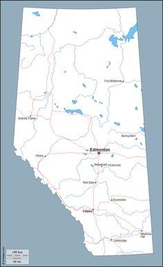 Alberta Grade 4 Social Studies 4.1 - Landforms - Rivers ...