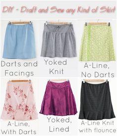 DIY Skirt Sewing
