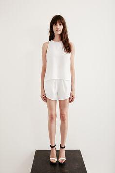 Life with bird white dress