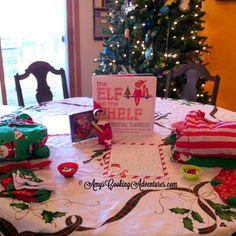 Elf on the Shelf Arrives bearing jammies & treats!
