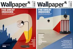 Noma Bar, Wallpaper The Great indoors